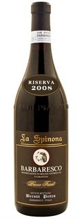 La Spinona Barbaresco Bricco Faset 2008...